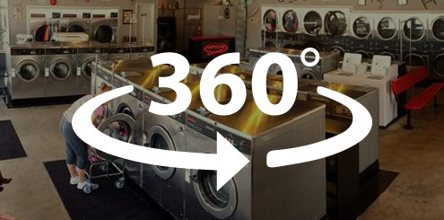 360 degrees washing service store front