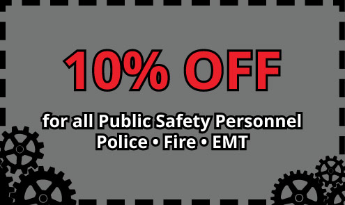 Public Safety Coupon 10 Percent
