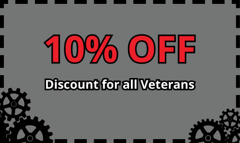 Coupon Veterans 10 Percent