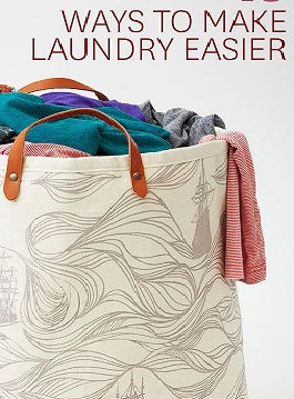 Four Ways To Make Laundry Easier
