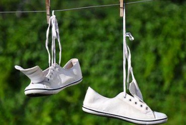 Drying out Shoe Odors
