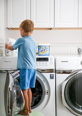 Back To School Time: Kids and Laundry