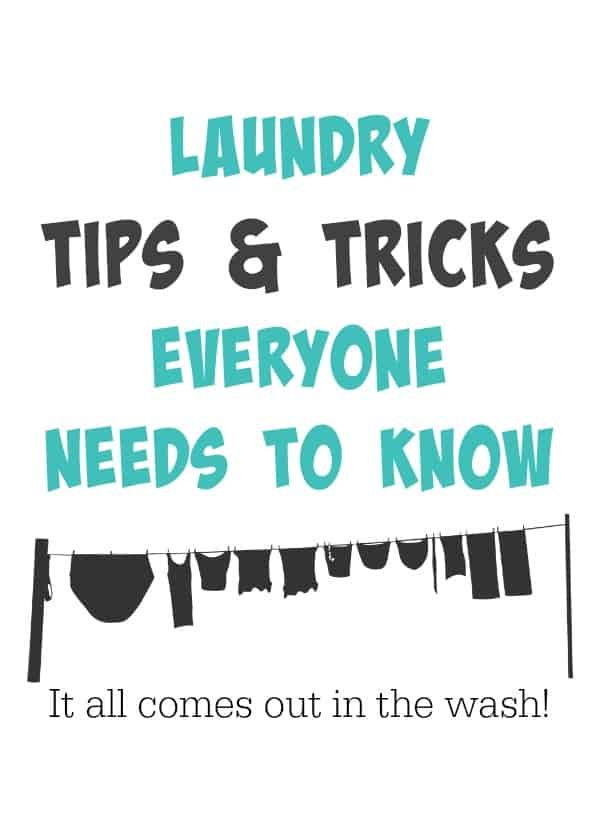 Laundry Tips & Tricks
