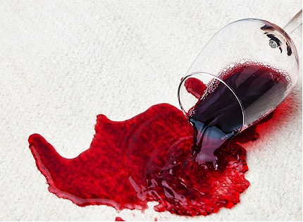 Removing Red Wine Stains from Silk