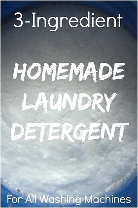 When Times Are Tough…Cut Cost…Make Your Own Detergent
