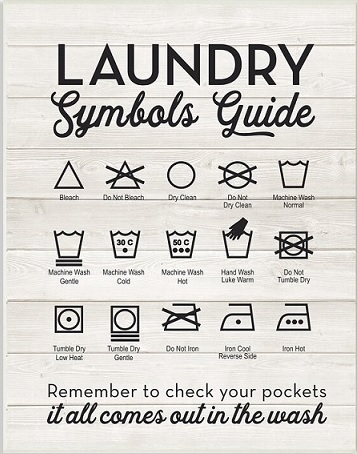 Understanding Laundry Language