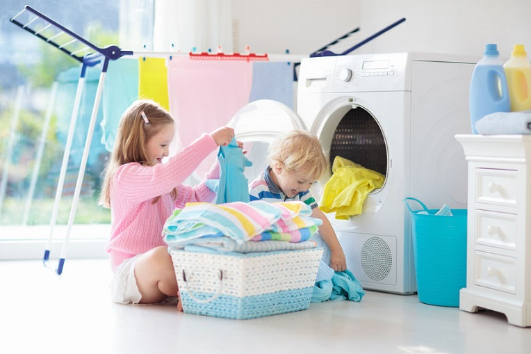 Teaching Kids the Importance of Laundry